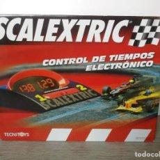 Scalextric: ANTIGUO CONTROL DE TIEMPOS ELECTRONICO - SCALEXTRIC TECNITOYS - 2005 - EN SU CAJA ORIGINAL - EN PERF. Lote 169041488