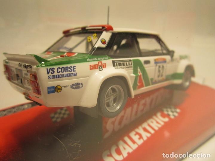 Scalextric: FIAT 131 ABARTH SCALEXTRIC NUEVO - Foto 2 - 186032802