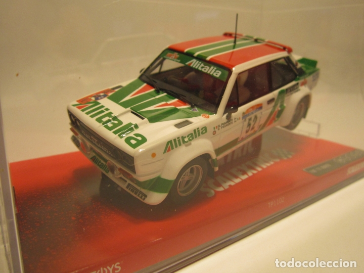 FIAT 131 ABARTH SCALEXTRIC NUEVO (Juguetes - Slot Cars - Scalextric Tecnitoys)