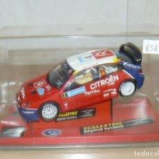 Scalextric: TECNITOYS SCALEXTRIC DIGITAL SYSTEM CITROEN XSARA WRC SAINZ RALLY SUECIA RF 1304. Lote 169604116