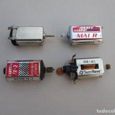 Scalextric: SCALEXTRIC , LOTE DE CUATRO MOTORES CERRADOS - CARTRIX,SCX ,MINI AUTO MA1 Y JIADA. Lote 169604204