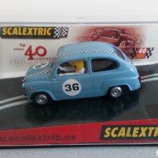Scalextric: SCALEXTRIC 600 DEL 40 ANIVERSARIO. Lote 169621581