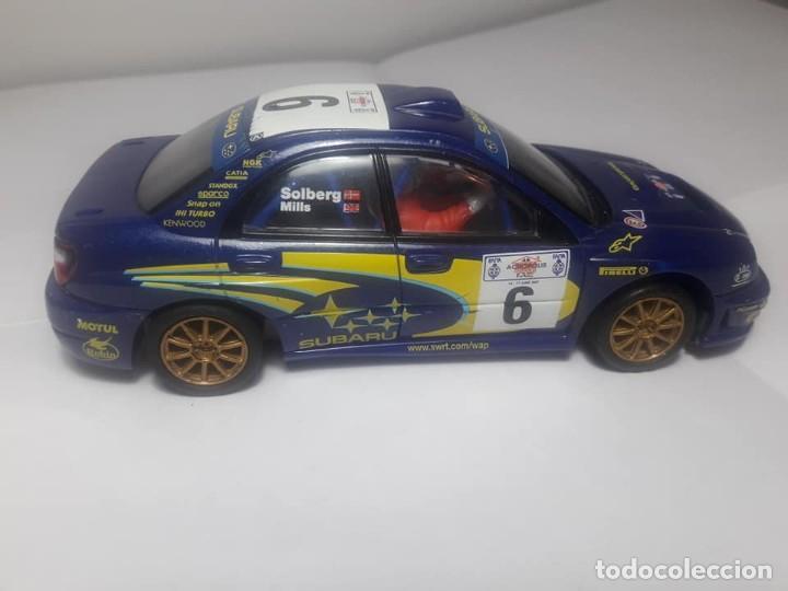 SUBARU IMPREZA WRC CON LUZ (Juguetes - Slot Cars - Scalextric Tecnitoys)
