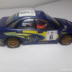 Scalextric: SUBARU IMPREZA WRC CON LUZ. Lote 169636256