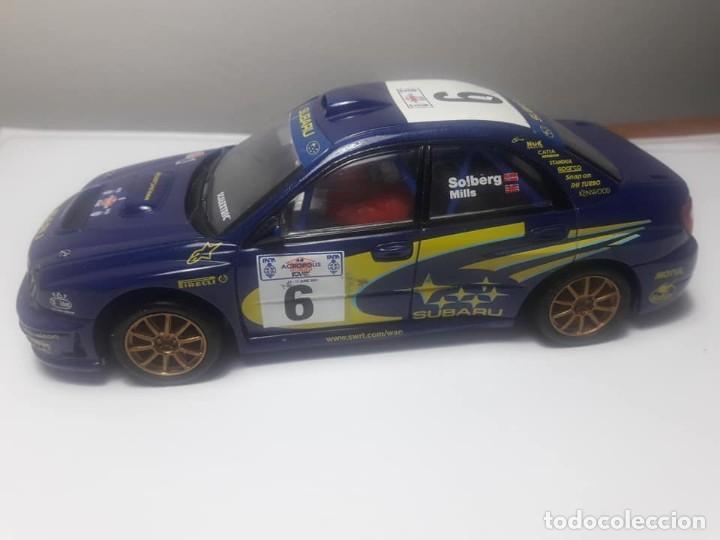 Scalextric: Subaru Impreza WRC con luz - Foto 2 - 169636256