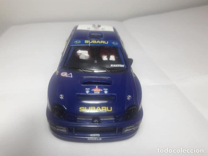 Scalextric: Subaru Impreza WRC con luz - Foto 4 - 169636256