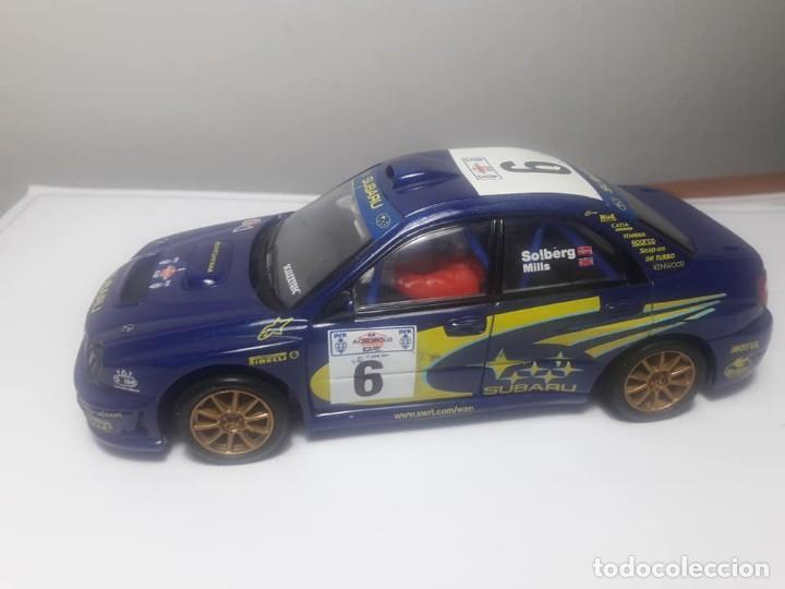 Scalextric: Subaru Impreza WRC con luz - Foto 6 - 169636256