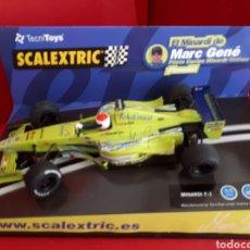 Scalextric: SCALEXTRIC MINARDI F 1 MARC GENÉ FIRMADO. Lote 169724812