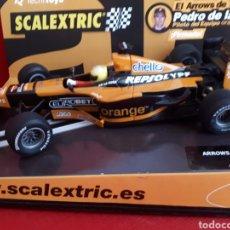 Scalextric: SCALEXTRIC F-1 ARROWS PEDRO DE LA ROSA. FIRMADO.. Lote 169725996