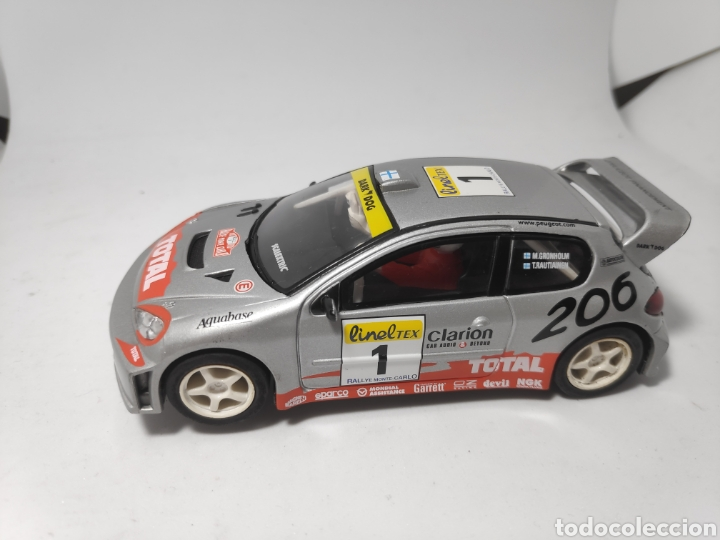 SCALEXTRIC PEUGEOT 206 WRC GRONHOLM TECNITOYS (Juguetes - Slot Cars - Scalextric Tecnitoys)