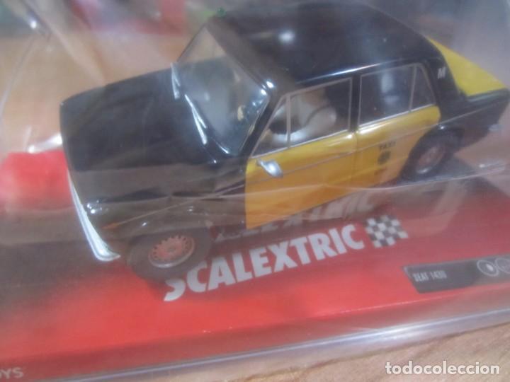 COCHE SCALEXTRIC SEAT 1430 TAXI BARCELONA NUEVO PRECINTADO TECNITOYS (Juguetes - Slot Cars - Scalextric Tecnitoys)