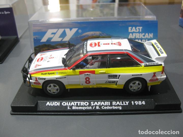 AUDI QUATTRO SAFARI RALLY 1984 DE FLY (Juguetes - Slot Cars - Scalextric Tecnitoys)