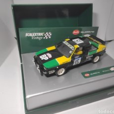 Scalextric: SCALEXTRIC AUDI QUATTRO VINTAGE 1981 MOUTON-PONS REF. A10148S300. Lote 191015961