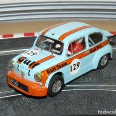 Scalextric: SCALEXTRIC TECNITOYS FIAT ABARTH 1000 GULF FESTO Nº 129 SLOT CAR SEAT. Lote 171415725
