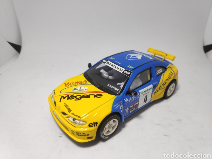 SCALEXTRIC RENAULT MAXI MEGANE ALTAYA (Juguetes - Slot Cars - Scalextric Tecnitoys)