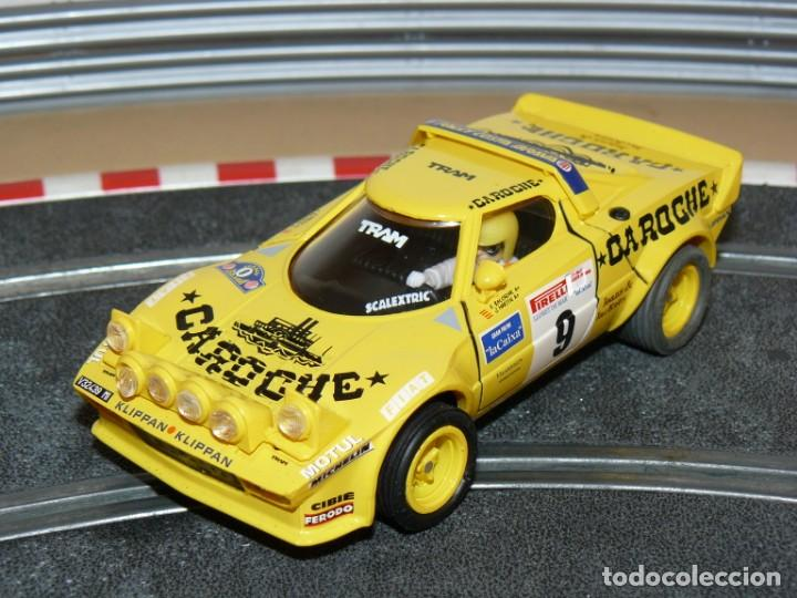 SCALEXTRIC TECNITOYS LANCIA STRATOS CAROCHE RALLY COSTA BRAVA SLOT CAR PLANETA (Juguetes - Slot Cars - Scalextric Tecnitoys)