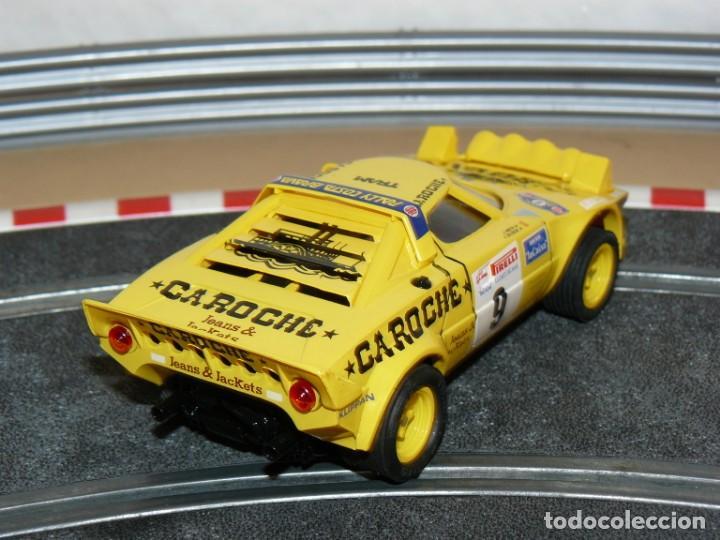 Scalextric: Scalextric TecniToys LANCIA STRATOS Caroche Rally Costa Brava slot car Planeta - Foto 2 - 171501005