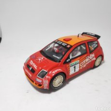 Scalextric: SCALEXTRIC CITROEN C2 JWRC TECNITOYS. Lote 171501294