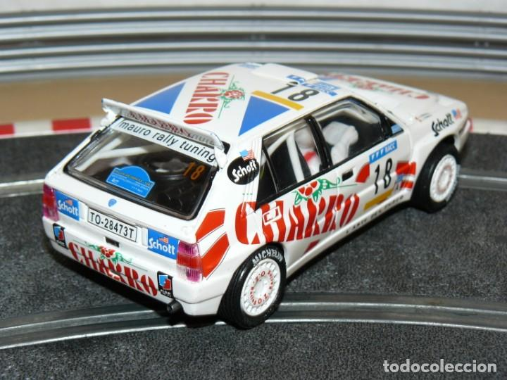 Scalextric: Scalextric TecniToys LANCIA DELTA INTEGRALE Charro Rally RACC slot car Planeta - Foto 2 - 171501334