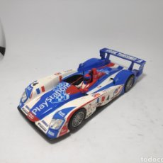 Scalextric: SCALEXTRIC AUDI R8 PLAYSTATION TECNITOYS. Lote 171529119