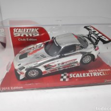 Scalextric: SCALEXTRIC MERCEDES SLS AMG GT3 CLUB SCALEXTRIC 2012 TECNITOYS. Lote 171586394