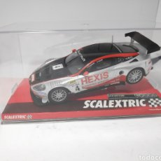 Scalextric: SCALEXTRIC ASTON MARTIN DBR9 HEXIS REF. A10141S300. Lote 171613919