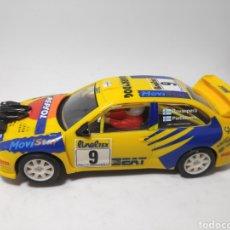Scalextric: SCALEXTRIC SEAT CÓRDOBA WRC TECNITOYS ROVANPERA N°9 RALLY MONTECARLO. Lote 171786363