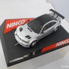 Scalextric: SLOT CAR NINCO BMW M3 GTR ROAD CAR REF. 50269. Lote 172079963
