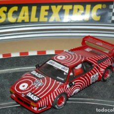Scalextric: SCALEXTRIC TECNITOYS BMW M1 BASF STUCK 80 SLOT CAR PLANETA / ALTAYA M-1. Lote 172097962