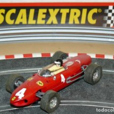 Scalextric: SCALEXTRIC TECNITOYS FORMULA 1 FERRARI 156 F-1 Nº 4 ROJO SLOT CAR ALTAYA F1 F 1. Lote 172105632