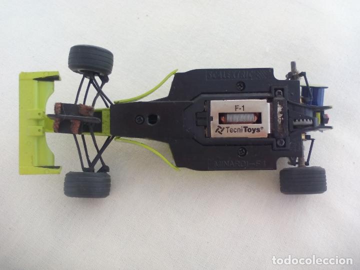 Scalextric: MINARDI F1. TECNITOYS COCHE SCALEXTRIC. - Foto 3 - 173379935
