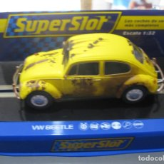 Scalextric: VW BEETLE AMARILLO DE SUPERSLOT. Lote 183369818