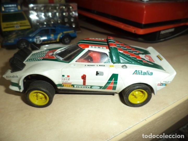 Scalextric: Lancia Stratos Scalextric Altaya.Con faltas. - Foto 2 - 173525203