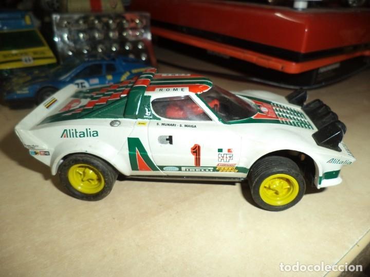 Scalextric: Lancia Stratos Scalextric Altaya.Con faltas. - Foto 4 - 173525203