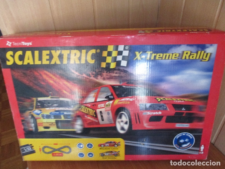 SCALEXTRIC TECNITOYS: X-TREME RALLY (Juguetes - Slot Cars - Scalextric Tecnitoys)