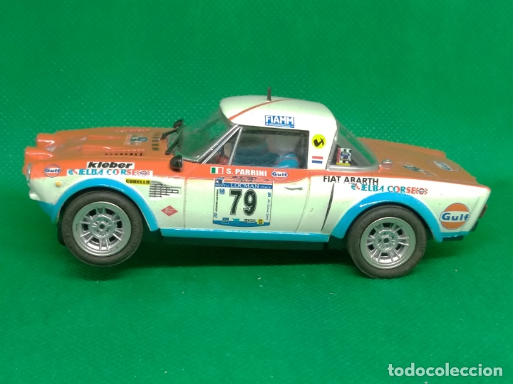 FIAT ABARTH 124 DE SCALEXTRIC (Juguetes - Slot Cars - Scalextric Tecnitoys)