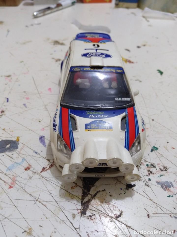 CARROCERÍA SCALEXTRIC FORD FOCUS WRC CARLOS SAIN LUÍS MOYA (Juguetes - Slot Cars - Scalextric Tecnitoys)
