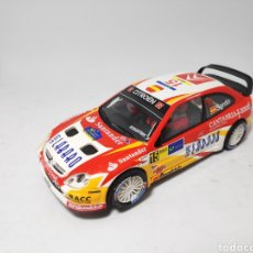 Scalextric: SCALEXTRIC CITROEN XSARA WRC SORDO TECNITOYS. Lote 174994484