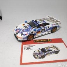 Scalextric: SCALEXTRIC PORSCHE 911 GT1 ALTAYA. Lote 175693253
