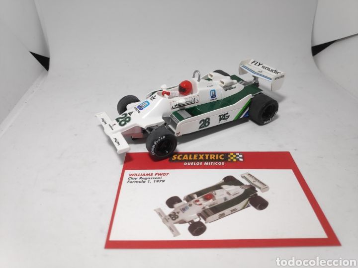 SCALEXTRIC WILLIAMS FW07 ALTAYA (Juguetes - Slot Cars - Scalextric Tecnitoys)