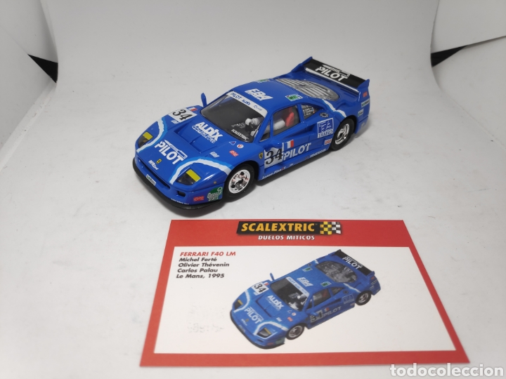 SCALEXTRIC FERRARI F40 ALTAYA (Juguetes - Slot Cars - Scalextric Tecnitoys)