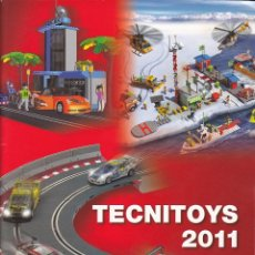 Scalextric: CATALOGO SCALEXTRIC TECNITOYS 2011 . Lote 175694420