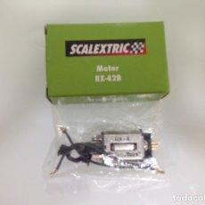 Scalextric: SLOT,MOTOR RX-4, SCALEXTRIC,CON CABLES Y ADAPTADORES PARA ACOPLAR A MODELOS ANTIGUOS. Lote 175961744