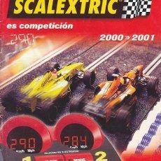Scalextric: CATALOGO SCALEXTRIC 2000-2001. Lote 175969024
