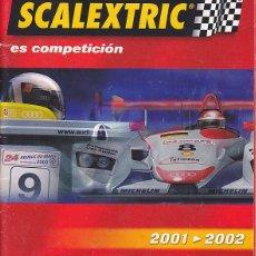 Scalextric: CATALOGO SCALEXTRIC 2001-2002. Lote 175969070
