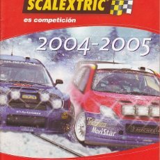 Scalextric: CATALOGO SCALEXTRIC 2004-2005. Lote 175969304
