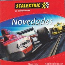 Scalextric: CATALOGO SCALEXTRIC NOVEDADES MAYO 2001. Lote 175969494