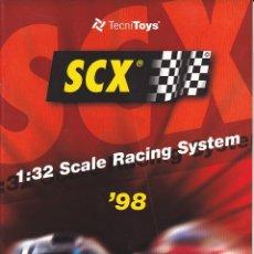 Scalextric: CATALOGO SCALEXTRIC TECNITOYS 1998. Lote 175973603