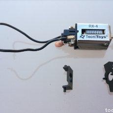 Scalextric: MOTOR RX-4 SCALEXTRIC NUEVO CON SOPORTES ADAPTADORES. Lote 175994315