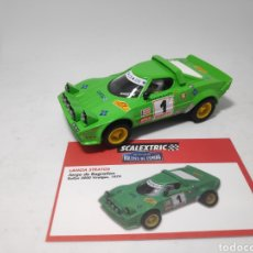 Scalextric: SCALEXTRIC LANCIA STRATOS ALTAYA. Lote 183462455